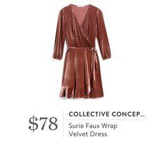 Collective Concepts Suri Faux Wrap Dress