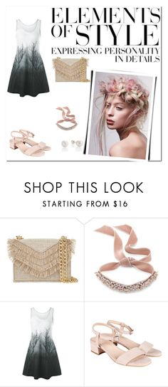 """""""Untitled #28"""" by sanela-m ❤ liked on Polyvore featuring Cynthia Rowley, Fallon and Vera Wang"""
