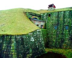 Varbergs Fästning, Halland, Sweden.  Looks like something straight out of Middle Earth....