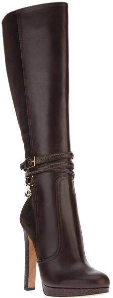 Dsquared2 Brown Knee Length Boot