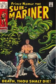 Sub-Mariner #13. (May 1969) NM. Free shipping!