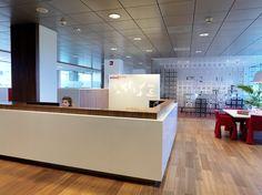 Ontwerp Cascade communicatie amsterdam - Zorgorganisatie Osira - hoofdkantoor