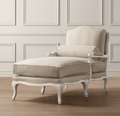 What is it about a chaise in a young womans room? I had one and loved it. I must find one for Madeline!