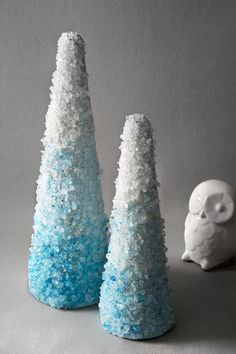 Holiday DIY: Rock Candy Cone Trees // Hostess with the Mostess® Cone Christmas Trees, Christmas Candy, Christmas Holidays, Christmas Crafts, Christmas Ideas, Holiday Ideas, Christmas Decorations, Christmas Houses, Christmas Sweets