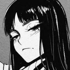 Manga Girl, Anime Art Girl, Dark Anime Girl, Gothic Anime, Aesthetic Art, Aesthetic Anime, Anime Negra, Estilo Anime, Art Et Illustration
