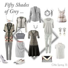 """Fifty Shades of Grey""  Wwww.kimberleyjohnson.cabionline #cabi"