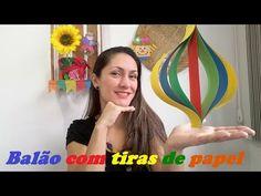 "FESTA JUNINA - ""Balão Decorativo"" - Programa ""Note e Anote"" - TV Record - YouTube"