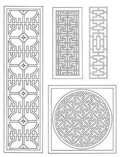traditional chinese latticework
