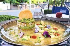 Tartare at restaurant Château d'Ouchy - Lausanne Lausanne, Lake Geneva, Restaurant, Diner Restaurant, Restaurants, Dining