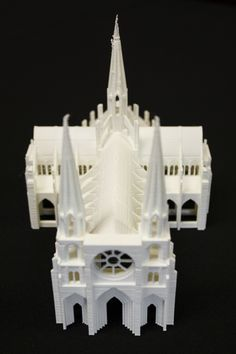 3D printed Cathedral