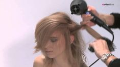 Haarschnitt weich gestuft für langes Haar - POWDERlayered - FULL Aveda, Hair Cuts, Dreadlocks, Hair Styles, Youtube, Monster, Quiche, Zucchini, Blog