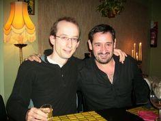 Tim Brody y Julio Alonso. II E-LIS meeting Valencia 2007