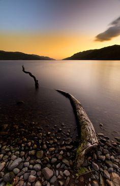 Loch Ness Monster - Loch Ness  Highlands Scotland UK