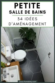 Small Bathroom Design: 34 ideas to copy! Source by homelisty Home Building Design, Design Your Home, House Design, Best Bathroom Flooring, Mini Bad, Tiny Bath, Modern Apartment Design, Bedroom Paint Colors, Wet Rooms