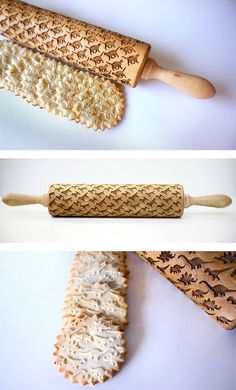 Custom Engraved Rolling Pins / 50 uniquely designed kitchen items for the food lover