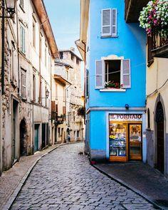 Lovere, Bergamo province, Lombardy, Italy.