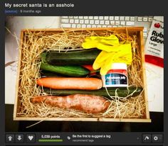 This secret santa: | 25 People Who Are Bigger Jerks Than You'll Ever Be