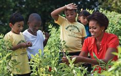Michelle Obama: my White House vegetable garden and the seeds of knowledge