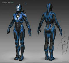 Iron Girl concept by Armor Concept, Concept Art, Iron Man Girl, Iron Man Kunst, Marvel Universe, Dungeons And Dragons, Character Art, Character Design, Character Outfits