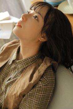 Cute Korean Girl, Cute Asian Girls, Beautiful Asian Girls, Cute Girls, Cute Kawaii Girl, Cute Girl Pic, Girl Face, Woman Face, Prity Girl