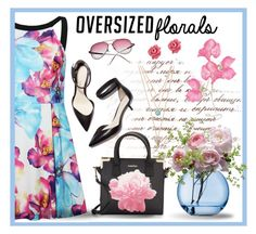 """Oversized Florals"" by jackie22 ❤ liked on Polyvore featuring Calvin Klein, 3.1 Phillip Lim, AORON, LSA International, Marc by Marc Jacobs and With Love From CA"