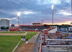 Port Arthur Stadium in Thunder Bay, Ontario.  Home to the Thunder Bay Whiskey Jacks of the Northern League.  No affiliate.  professional.
