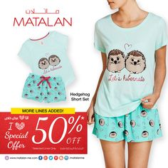 More Lines Added! SPECIAL OFFER 50% Discount on a wide selections at MATALAN! Start the season with BIG SAVINGS in a fabulous STYLE! Hurry whilst stocks last!   short set   www.matalan-me.com   #matalanme #makesfashionsense #short #set #specialoffer #Sale #Partsale #big #Savings #fabulous #style #wide #Selection #fashion #fashionblogger #ladies #gents #kids #home #offer #promotion #UAE #Qatar #Oman #Bahrain #KSA #Jordan