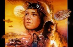 Poster the Force Awakens Rey Leaked | Artist Adam Schickling takes inspiration from Drew Struzan 's classic ...