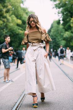 Milan Fashion Week SS17 Street Style: Day 2 - Milan Fashion Week SS17 Street Style: Day 2