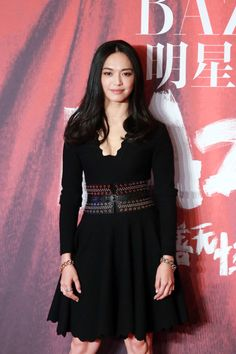 Actress Yao Chen arrives at the red carpet of the 2015 Bazaar Star Charity Night at China World Summit Wing on September 23, 2015 in Beijing, China.