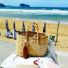 sietecuatrocuatro NEW COLLECTION  2015 ... CAPAZOS DE 744 capazos-beach-bags-summer-verano-sol-sun-playa-beach-ZARAUZ-BASQUE COUNTRY-SPAIN