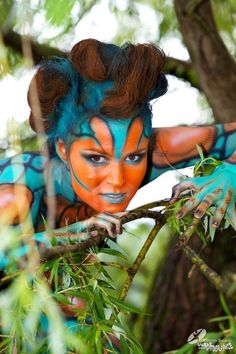 / Body Art / Fairy Art: World Body Painting Festival Body Painting Festival, Fairy Art, Historical Costume, Costume Makeup, Face And Body, Painting Inspiration, Wearable Art, Amazing Art, Body Art