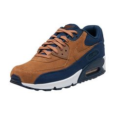 NIKE SPORTSWEAR MENS AIR MAX 90 PRM SNEAKER Brown