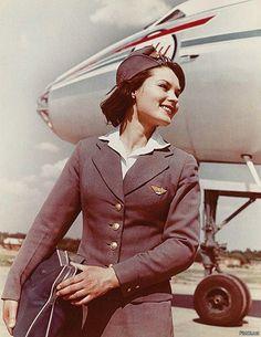 1950's Aeroflot Stewardess.
