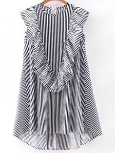http://es.shein.com/Navy-Sleeveless-Ruffle-Dipped-Hem-Zipper-Dress-p-289114-cat-1727.html