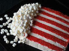 bag of popcorn birthday cake savymom.com