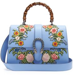 Gucci Dionysus large floral-embroidered leather tote