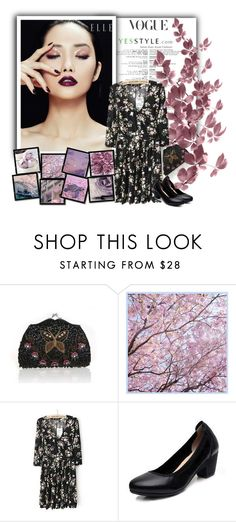 """""""Floral Blossom - S/S 2016"""" by newoutfit ❤ liked on Polyvore featuring Glam Cham and Silk by Bryony"""
