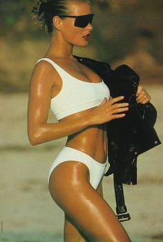 Vendela Kirsebom... love white bikini's....  http://HotWomensClothes.com/swimwear