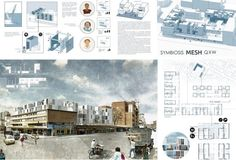 Social Housing Architecture, Architecture Panel, Architecture Visualization, Architecture Portfolio, Landscape Architecture, Architecture Posters, Interior Presentation, Architecture Presentation Board, Presentation Boards