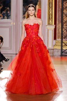 Les plus belles robes des défilés haute couture automne-hiver 2012-2013, les photos : FULL LENGTH haute couture ZUHAIR MURAD RF12 0466