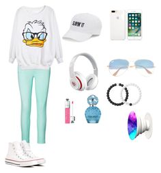"""""""Beauty"""" by lovleedd on Polyvore featuring Ralph Lauren, Converse, SO, Beats by Dr. Dre, Ray-Ban, Marc Jacobs and Lokai"""