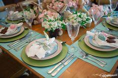 Mesa Posta Páscoa - Easter Tableware - Happy Easter Produção: Silvia Giacobbe / Fotografia Rafaela Azevedo