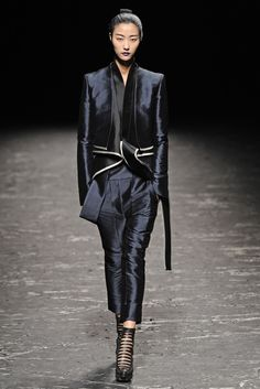 Haider Ackermann Ready To Wear collection, Spring 2013
