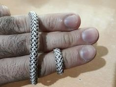 Kazaziye Yüzük Yapımı (14 tepeli) - 14B 5L Turk's Head Knot - YouTube