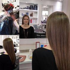 Color & Olaplex by Miranda & Jeanette Blonde Color, Hair Colors, Hair Styles, Beauty, Beleza, Hair Looks, Cosmetology, Hair Cuts, Hairdos