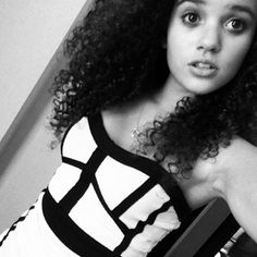 Madison Pettis from Disney's 'Cory in the House' All Grown Up ❤ liked on Polyvore