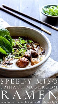 Easy Stew Recipes, Best Vegetarian Recipes, Delicious Dinner Recipes, Bean Recipes, Hearty Vegetable Soup, Recipe Maker, Vegan Ramen, Easy Vegan Dinner, Ramen Bowl