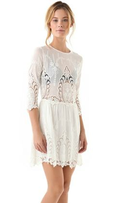 Valentina lace dress.