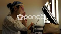 Peking Opera actresses are painting their faces - Stock Footage | by YPPictures